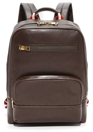 Bally Bally Thunder Leather Backpack