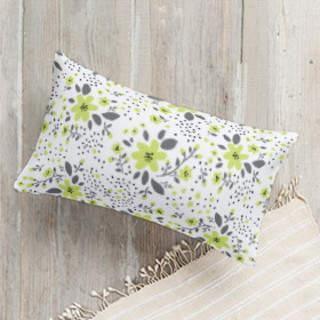 Spring Field Self-Launch Lumbar Pillows