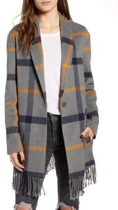 BB Dakota Elementary Plaid Coat