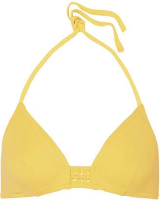 Eres Lumi Triangle Bikini Top - Pastel yellow