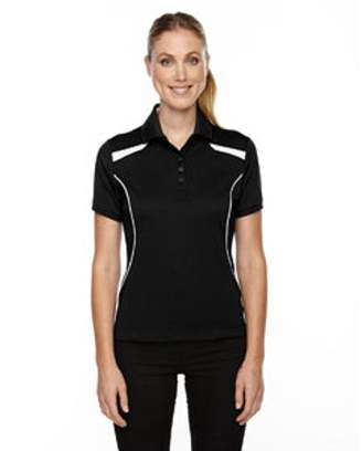 Ash City - Extreme Ladies' Eperformance' Tempo Recycled Polyester Performance Textured Polo