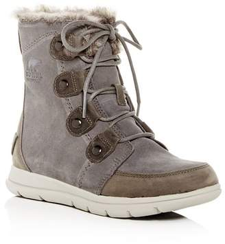 Sorel Women's Explorer Joan Waterproof Suede Boots
