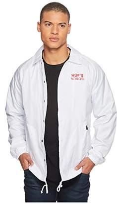 HUF Men's Pizza Coaches Jacket
