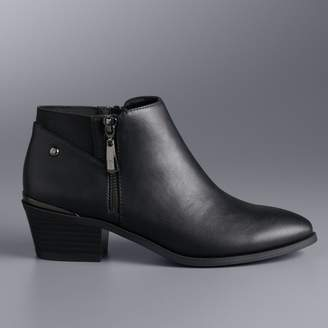 Vera Wang Simply Vera Painter Women's Ankle Boots