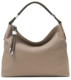 Michael Kors Skorpios Leather Hobo Bag