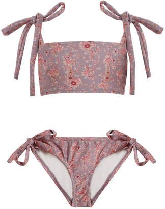 Zimmermann Juniper Tie Bandeau Bikini