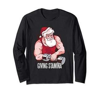 No Lift No Gift No Stamina Christmas Long Sleeve T-Shirt