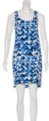 Nili Lotan Printed Mini Dress