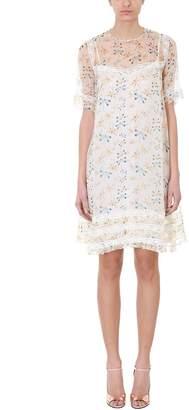 Rochas Dragonfly-print Shift Dress