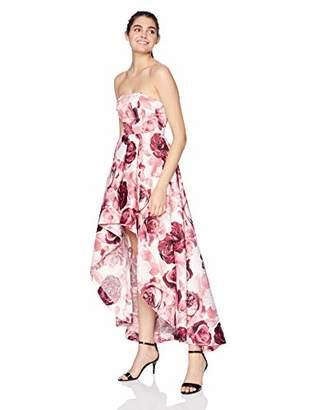 4fb4e692f Speechless Junior's Strapless High-Low Formal Prom Dress