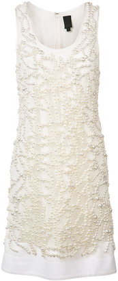 Vera Wang embroidered pearls dress $2,495 thestylecure.com