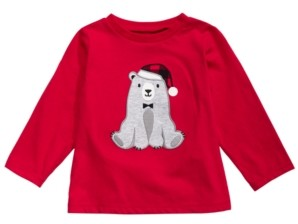First Impressions Toddler Boys Polar Bear T-Shirt, Created For Macy's