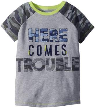 Mud Pie Camo Trouble Short Sleeve Shirt Boy's Clothing