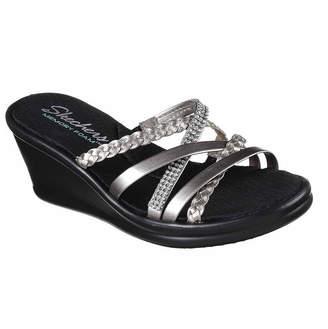 Skechers Womens Rumblers Wild Child Wedge Sandals