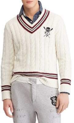 Polo Ralph Lauren Striped Cricket Sweater