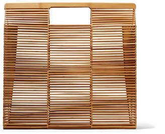 Cult Gaia Big Bamboo Tote - Beige