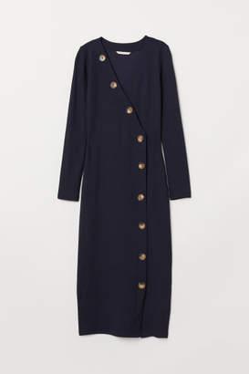 H&M V-neck Dress - Blue