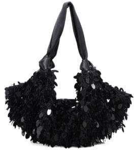 The Row Crochet Paile Wool Shoulder Bag