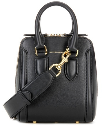 Alexander McQueen Alexander McQueen Small Heroine leather crossbody bag