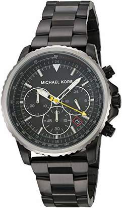 Michael Kors Men's 'Theroux' Quartz Stainless-Steel-Plated Watch