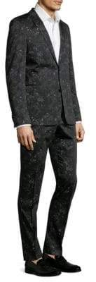 Strellson Cale Madden Slim-Fit Floral Suit