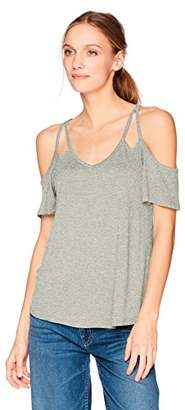 Olive + Oak Olive & Oak Women's Hollie Cold Shoulder Top
