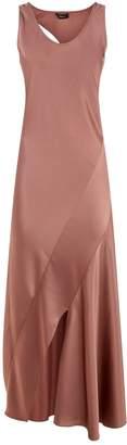 Theory Satin Midi Dress