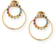 Tai Rainbow Earrings w/ Hoop Jacket