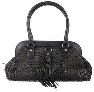 Max Mara Leather Zip Shoulder Bag