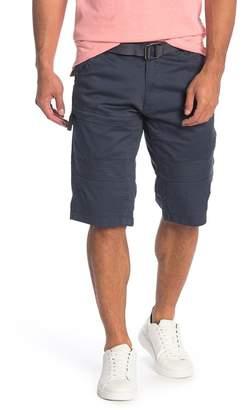 ProjekRaw Projek Raw Washed Denim Shorts