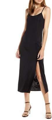 Something Navy Easy Knit Midi Dress