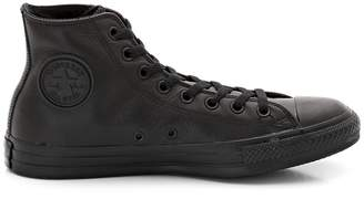 Converse Chuck Taylor All Star Hi Mono Leather High Top Trainers