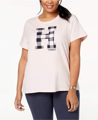 Tommy Hilfiger Plus Size Applique T-Shirt, Created for Macy's