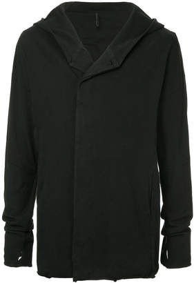 Masnada buttoned hooded jacket