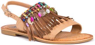 Muk Luks Margot Womens Flat Sandals