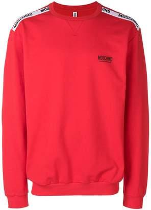 Moschino logo crewneck sweatshirt