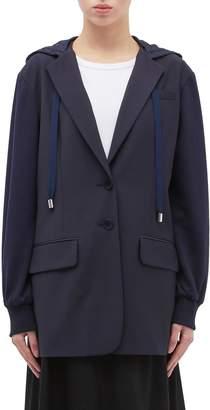 Tibi Reversible hooded blazer