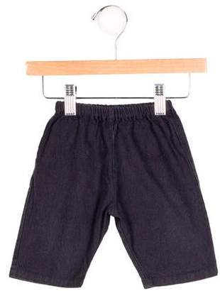 Makie Boys' Fringe-Trimmed Straight-Leg Pants