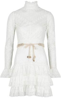 72b0bef53121 Zimmermann Veneto Perennial Ivory Lace Dress