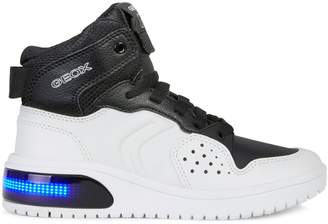 Geox Kid's LED Lace-Up Sneakers