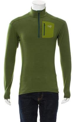 Arc'teryx Wool Half-Zip Sweater