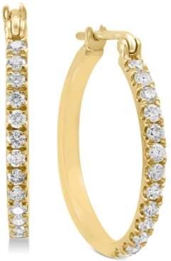Effy Diamond Hoop Earrings (1/2 ct. t.w.) in 14k Gold