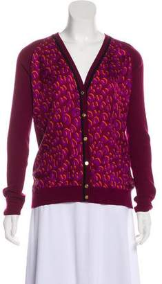 Louis Vuitton Printed Knit Cardigan