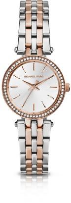 Michael Kors Petite Darci Two-Tone Stainless Steel Bracelet Watch