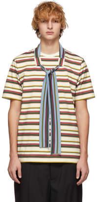 J.W.Anderson Multicolor Tie T-Shirt
