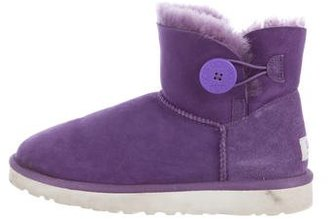 UGG Australia Bailey Button Shearling Boots $80 thestylecure.com