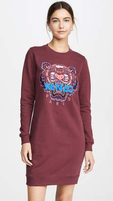 Kenzo Classic Tiger Sweatshirt Dress