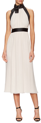 Kate Spade Chiffon Bow Midi Dress