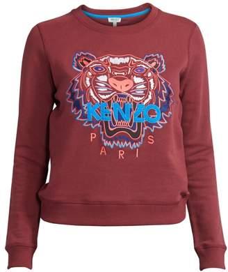 Kenzo Slim-Fit Classic Tiger Cotton Sweatshirt