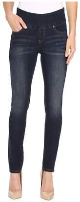 Jag Jeans Nora Pull-On Frontline Denim Skinny in Deep Ocean Women's Jeans